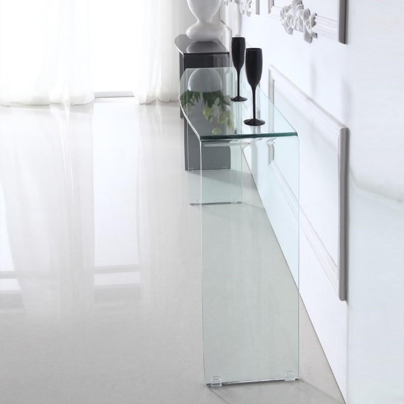 Consola de diseño de vidrio ALINE