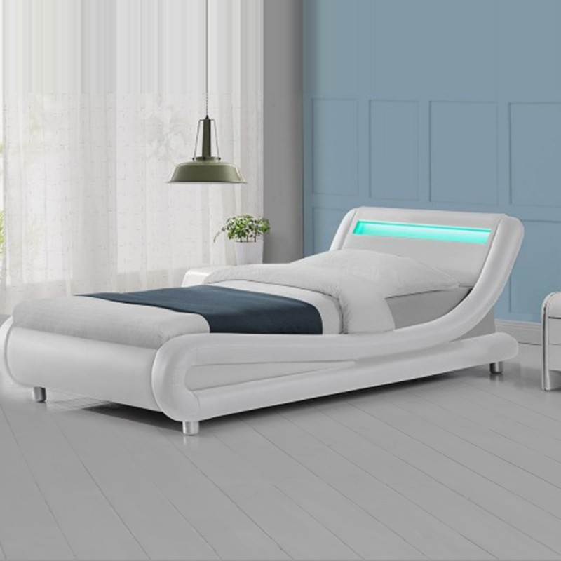 Lit design led julio meublerdesign - Led pour lit ...