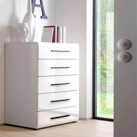 Commodes - Commode blanc laque ikea ...