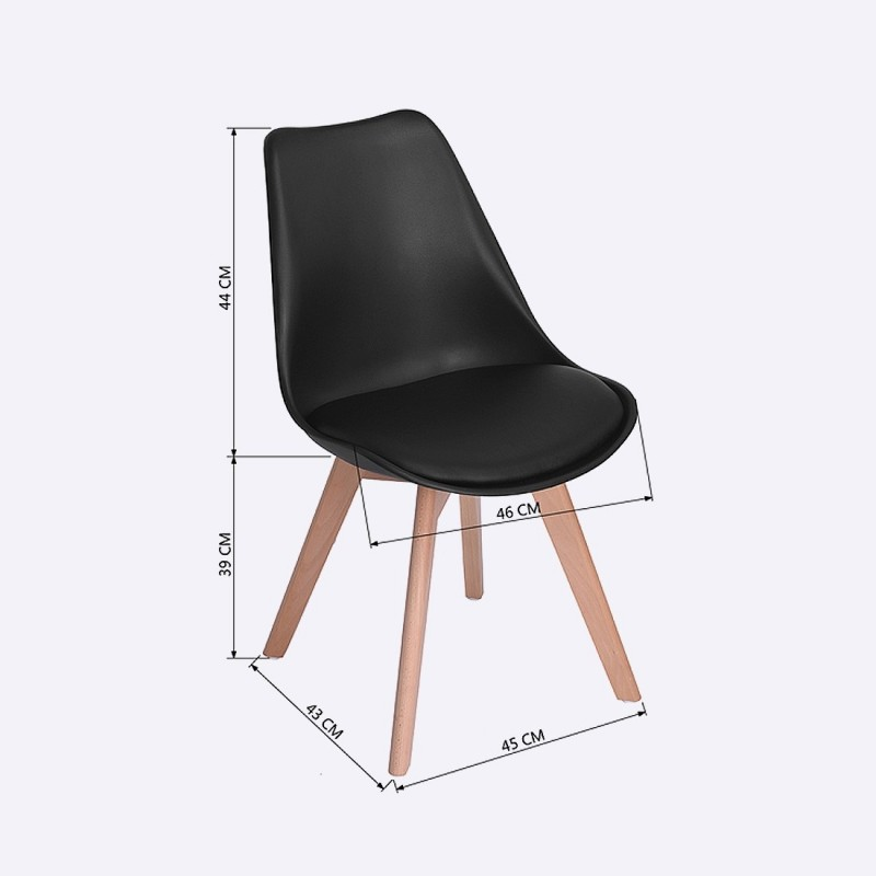 Achetez Des Chaises Scandinave Design Salle A Manger Pas Chere