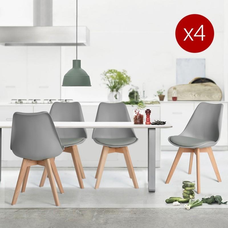 achetez des chaises scandinave design salle manger pas ch re. Black Bedroom Furniture Sets. Home Design Ideas