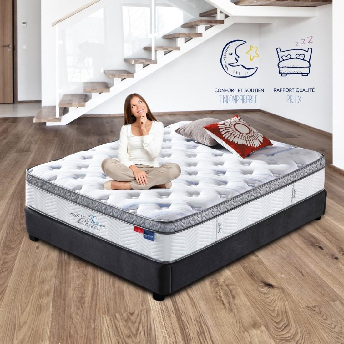 matelas plus sommier. Black Bedroom Furniture Sets. Home Design Ideas