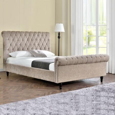 Lit design Kapaldi haute tête de lit