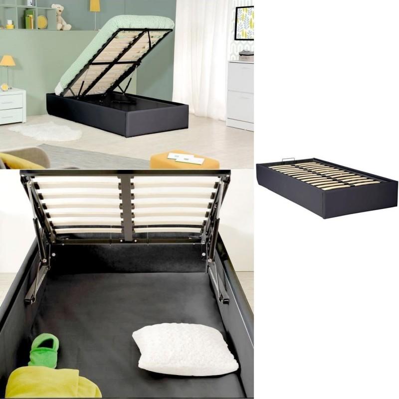 sommier coffre de rangement room. Black Bedroom Furniture Sets. Home Design Ideas