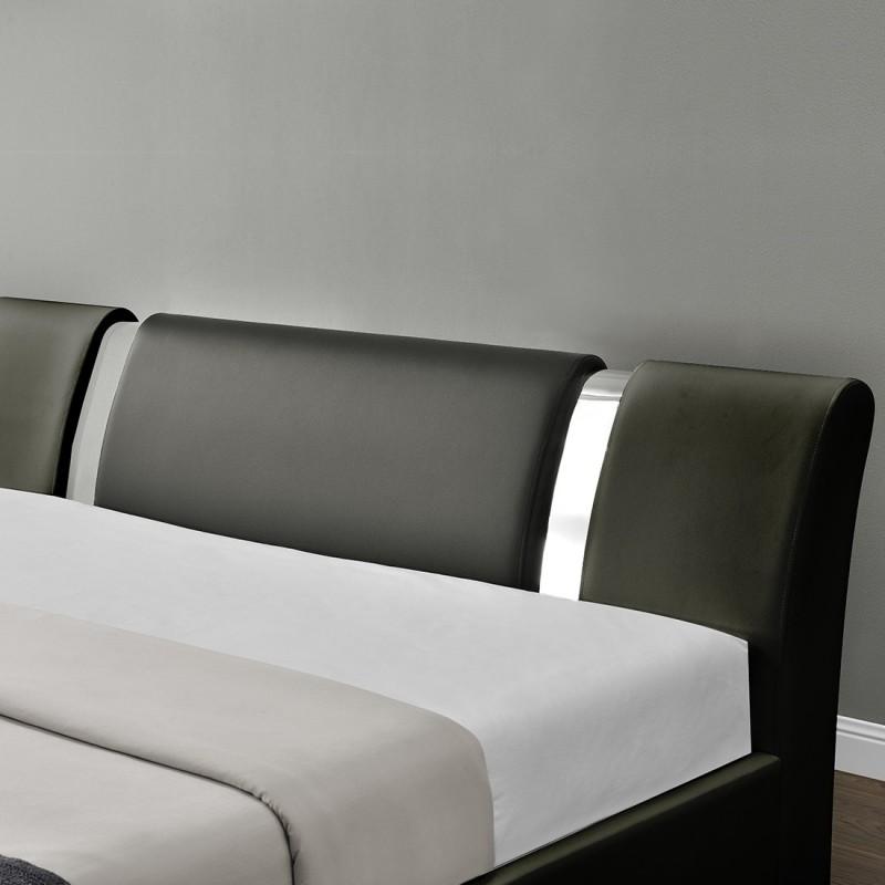 lit nova avec sommier relevable et rangement int gr meublerdesign. Black Bedroom Furniture Sets. Home Design Ideas