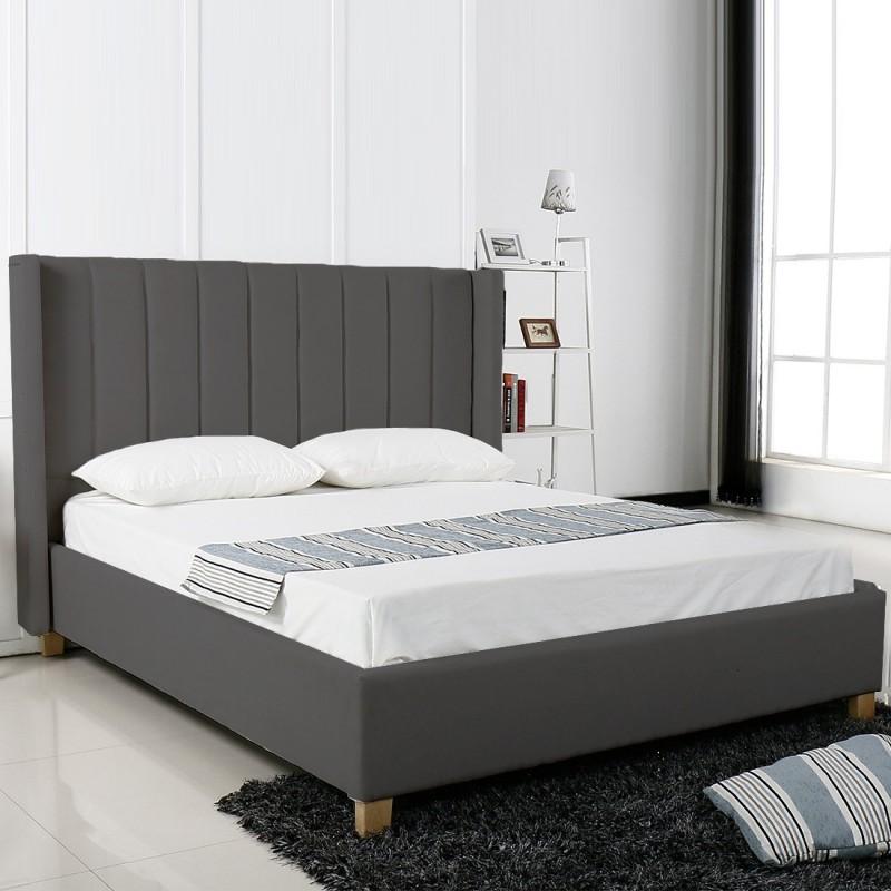 lit design grand t te de lit king. Black Bedroom Furniture Sets. Home Design Ideas