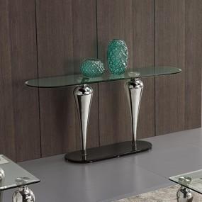 Consola de cristal de diseño NINA