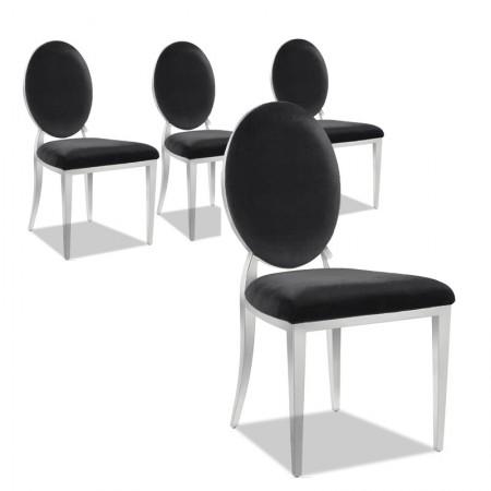 Lot de 4 chaises haut de gamme ERA