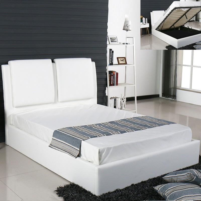 lit design avec coffre de rangement. Black Bedroom Furniture Sets. Home Design Ideas