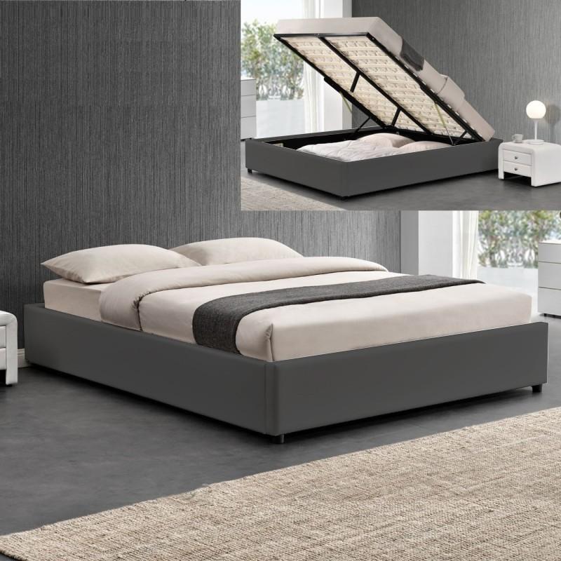 sommier room avec coffre de rangement meublerdesign. Black Bedroom Furniture Sets. Home Design Ideas