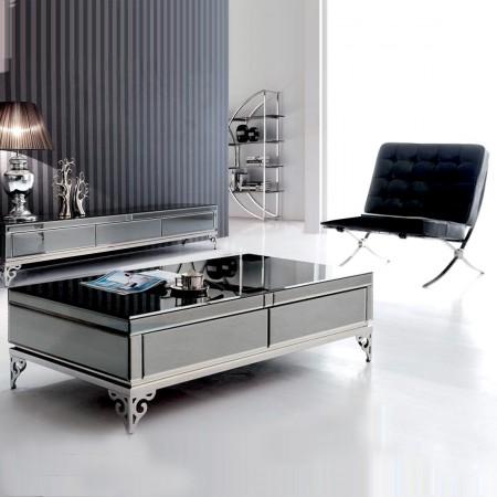 Mesa de centro de diseño elegante