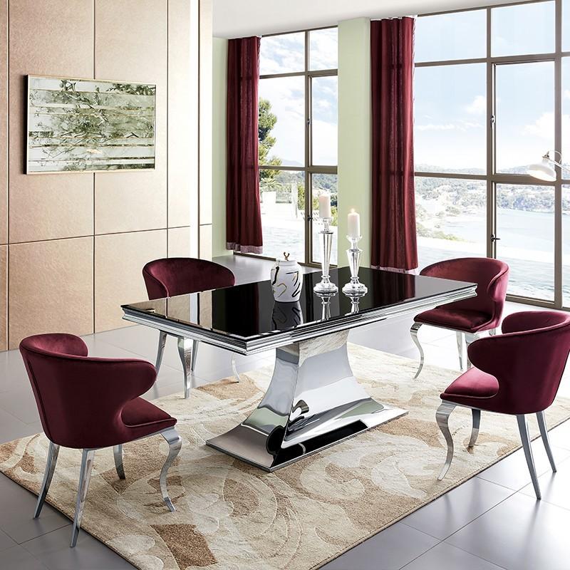 Mesa de comedor de diseño Virginie
