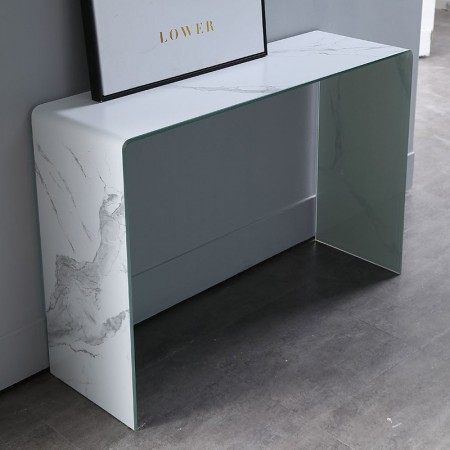 Console effet marbre Lower