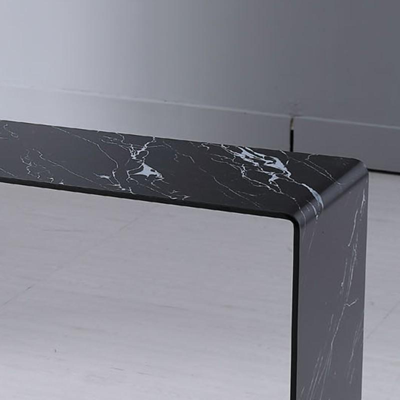 Console marbre noir