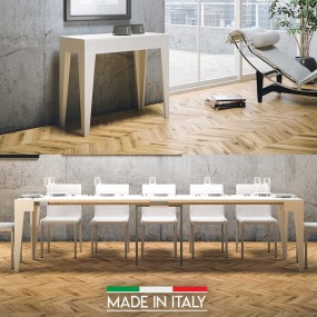 Table Console extensible Isotta Bois
