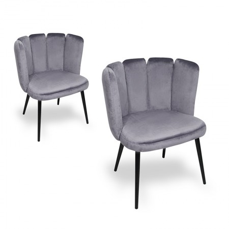 Chaise de salle à manger X2 Belair