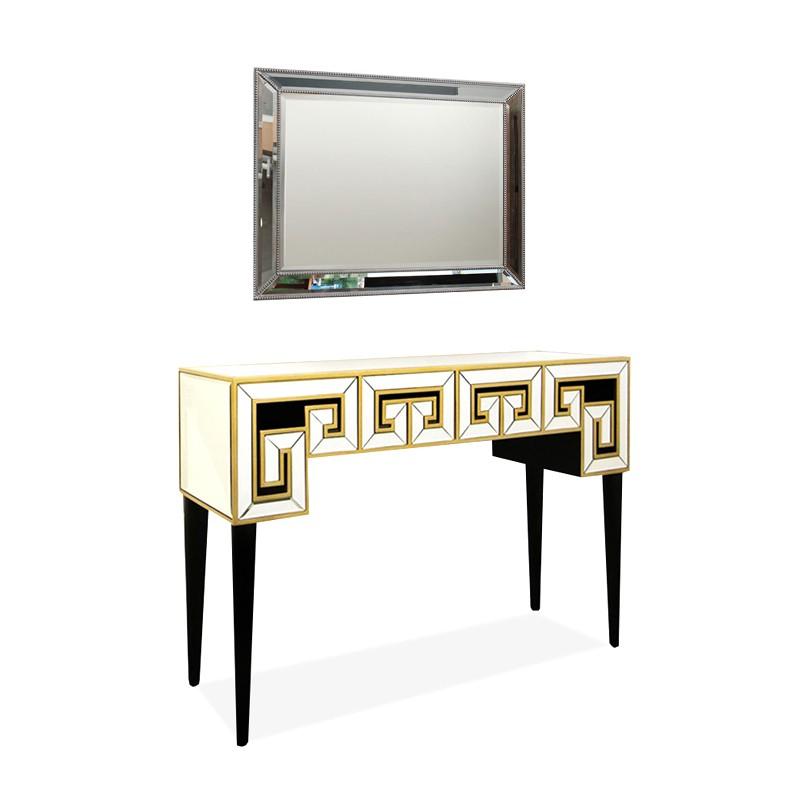 Console in vetro e legno VENITIENNE