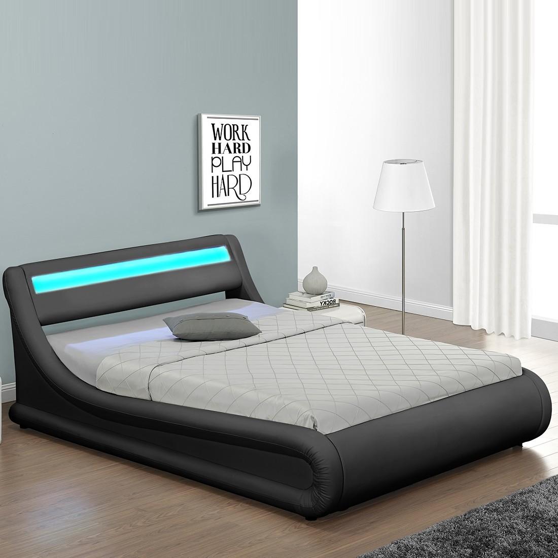 Lit design julia avec coffre for Tete de lit confortable