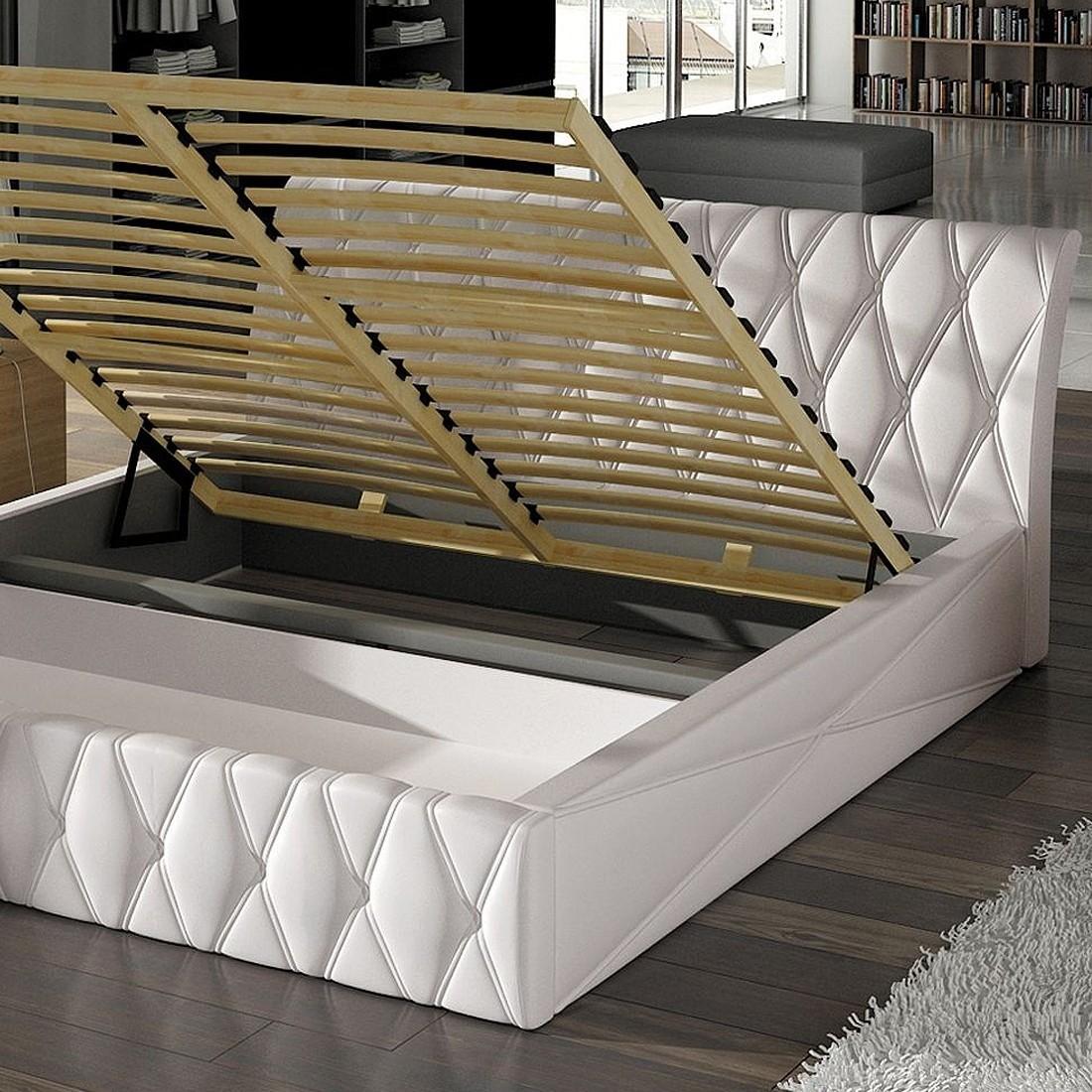 lit design north avec sommier relevable. Black Bedroom Furniture Sets. Home Design Ideas