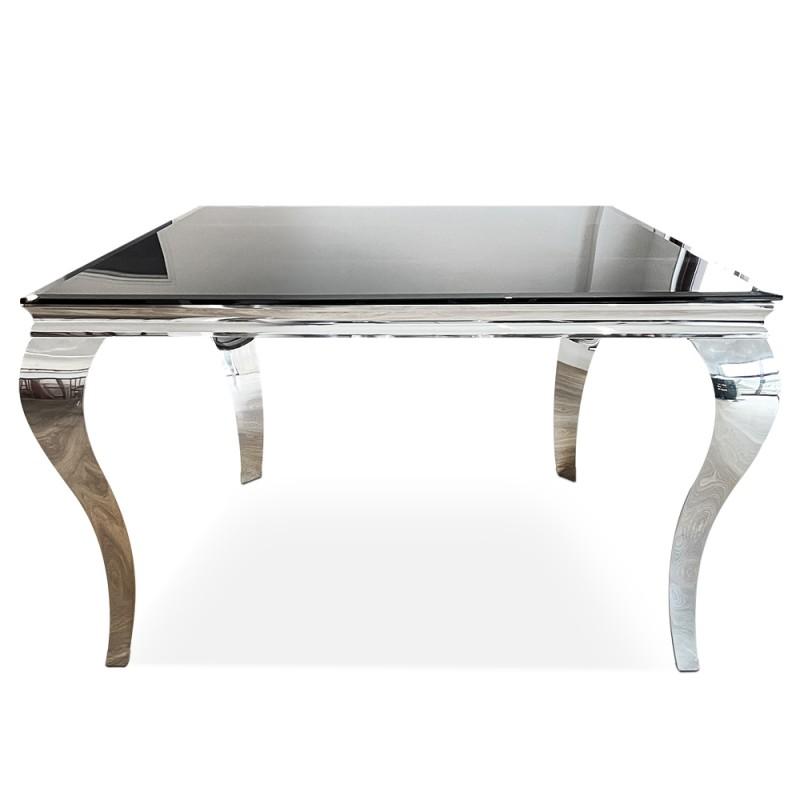Tavolo da pranzo quadrato barocco 140 cm x 140 cm - Ema