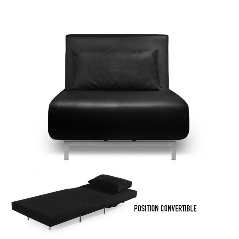 canape convertible une place maison design. Black Bedroom Furniture Sets. Home Design Ideas