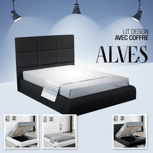 LIT COFFRE DESIGN ALVES